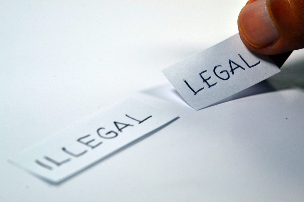 חוקי או לא חוקי
